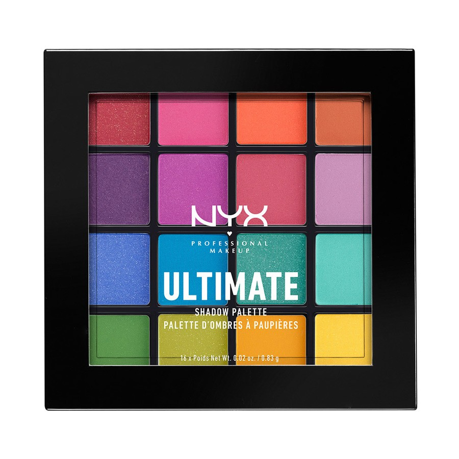 NYX Professional Makeup Ultimate Eyeshadow Palette Brights USP04