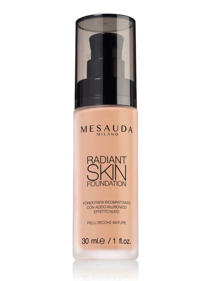 Mesauda Milano Radiant Skin Foundation 304 Medium Tan 30ml
