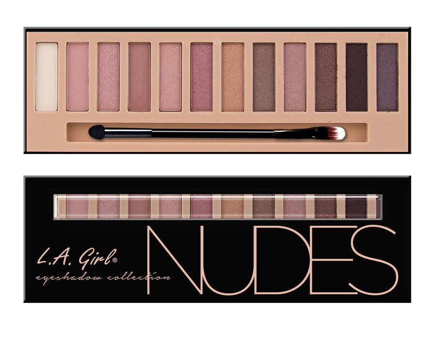 L.A. Girl Beauty Brick Eyeshadow Collection Nudes GES331 12g