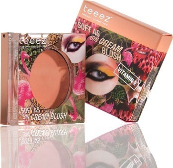 Teeez Trend Cosmetics La Isla Chique Collection Soft as Sin Cream Blush Sun Tan Taupe