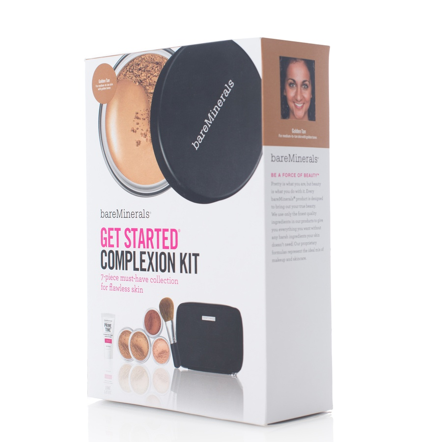 BareMinerals Get Started Complexion Kit 7 Deler Golden Tan