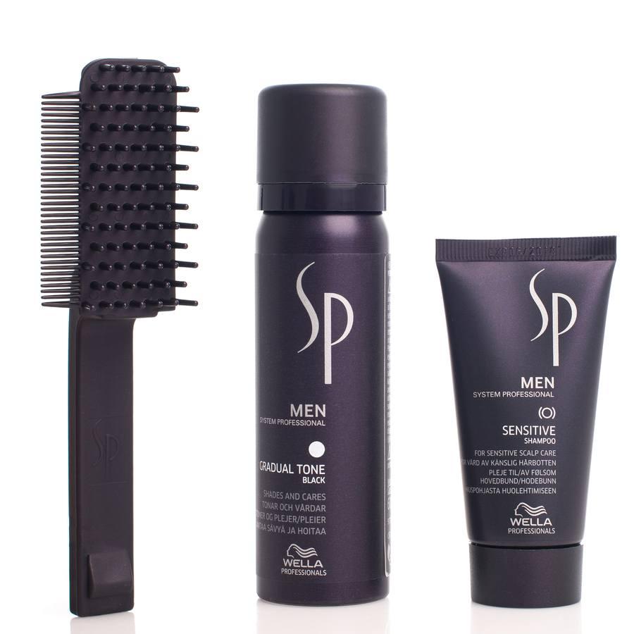 Wella SP Men Gradual Tone Black Gavesett