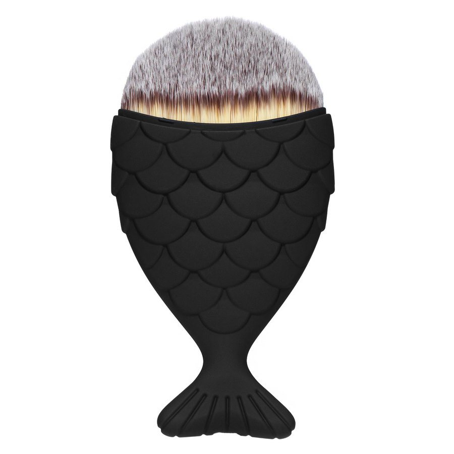 Mermaid Salon The Original Chubby Mermaid Brush Black Matte