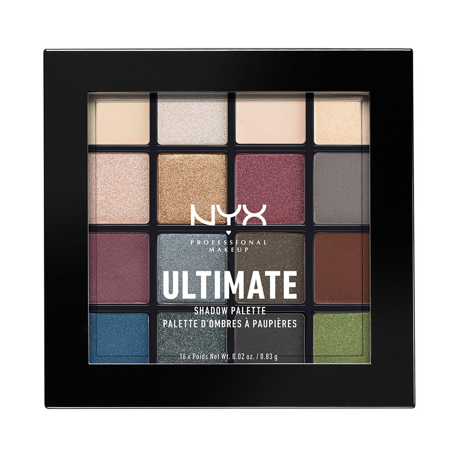 NYX Prof. Makeup Ultimate Eyeshadow Palette Smokey & Highlight USP01