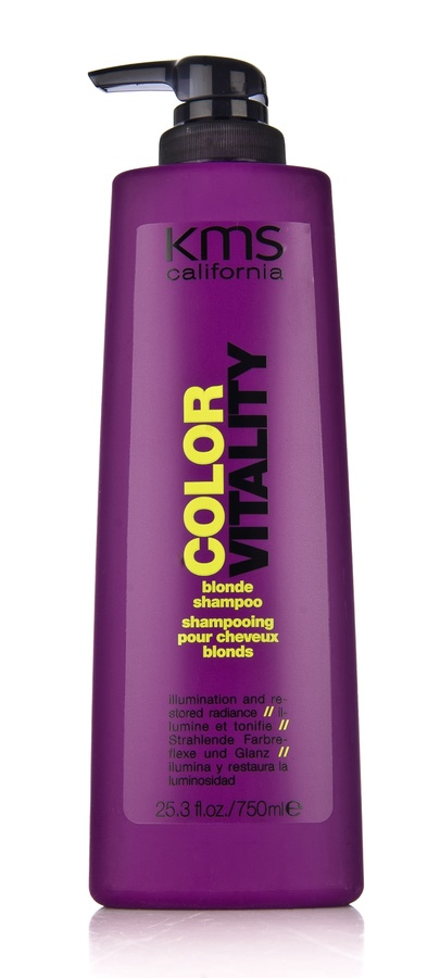 Kms California Colorvitality Blonde Shampoo 750ml