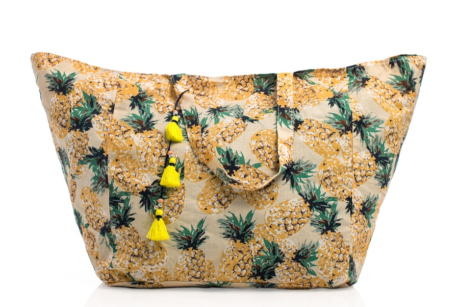 Shelas Strandbag ''Pineapples''