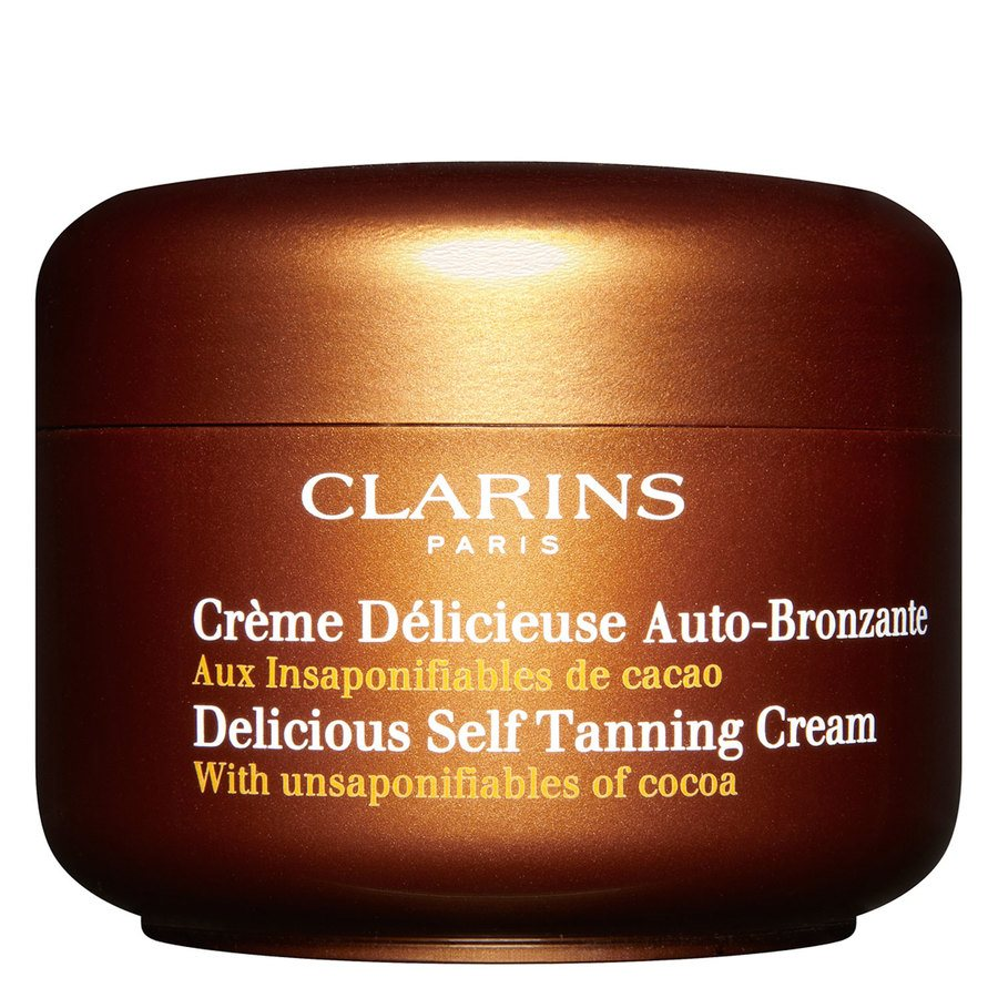 Clarins Delicious Self Tanning Cream Face And Body 150ml