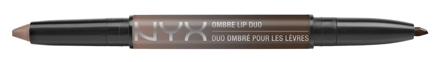 NYX Ombre Lip Duo Lipstick & Lipliner Old06 Cookies & Cream