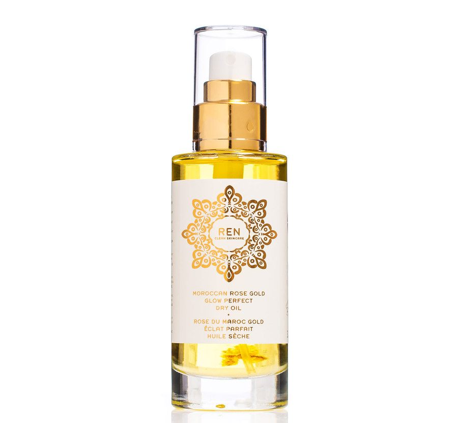 REN Morroccan Rose Gold Glow Perfect Dry Oil 100ml