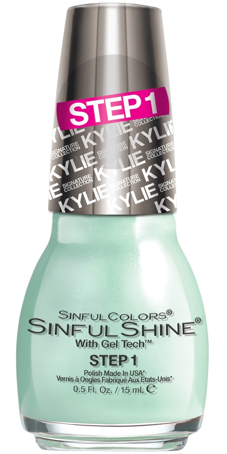 Kylie Jenner Sinful Colors Shinel Shine Neglelakk Minty Fresh #2053 15ml