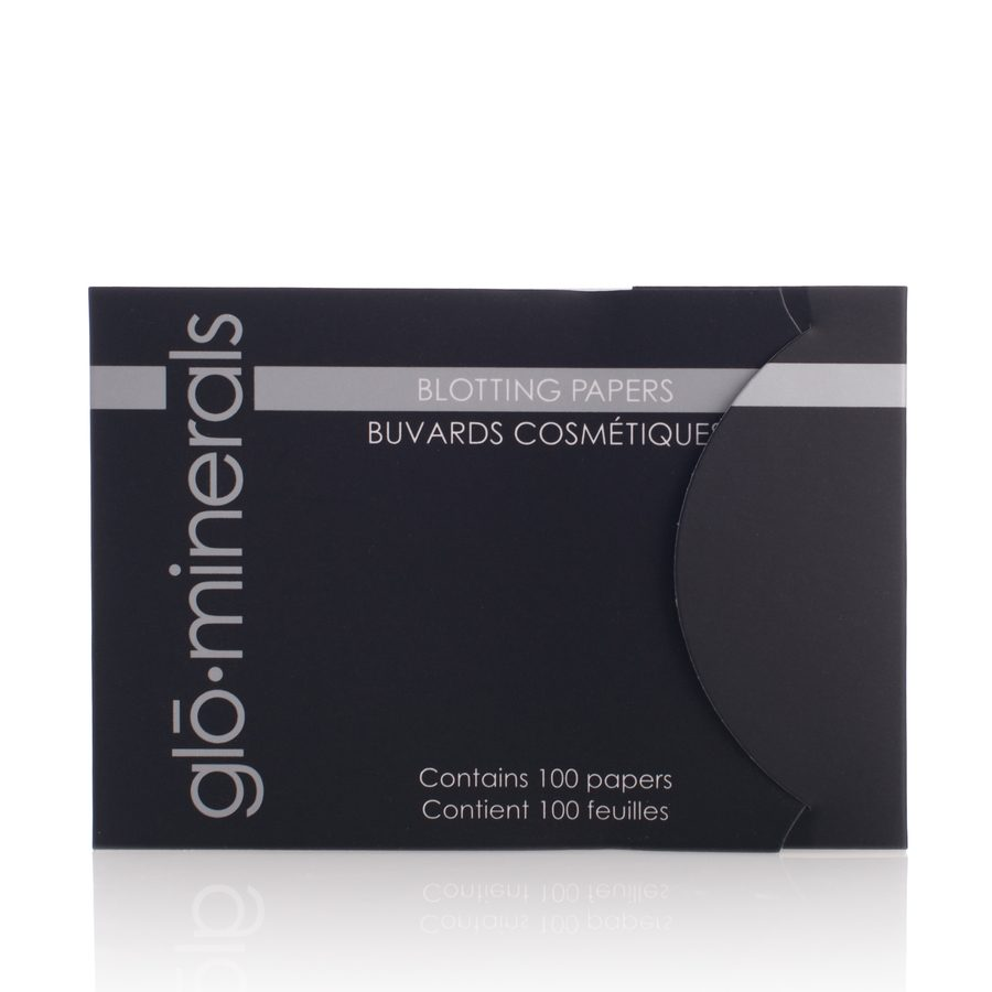glóMinerals Blotting Papers 10 sheets