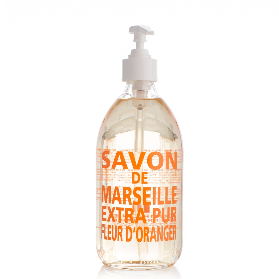 Compagnie De Provence Liquid Soap Orange Blossom Glassflaske 500ml