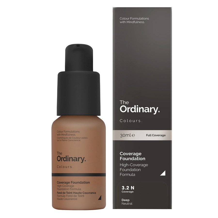 The Ordinary Coverage Foundation 3.2 N Deep Neutral 30ml