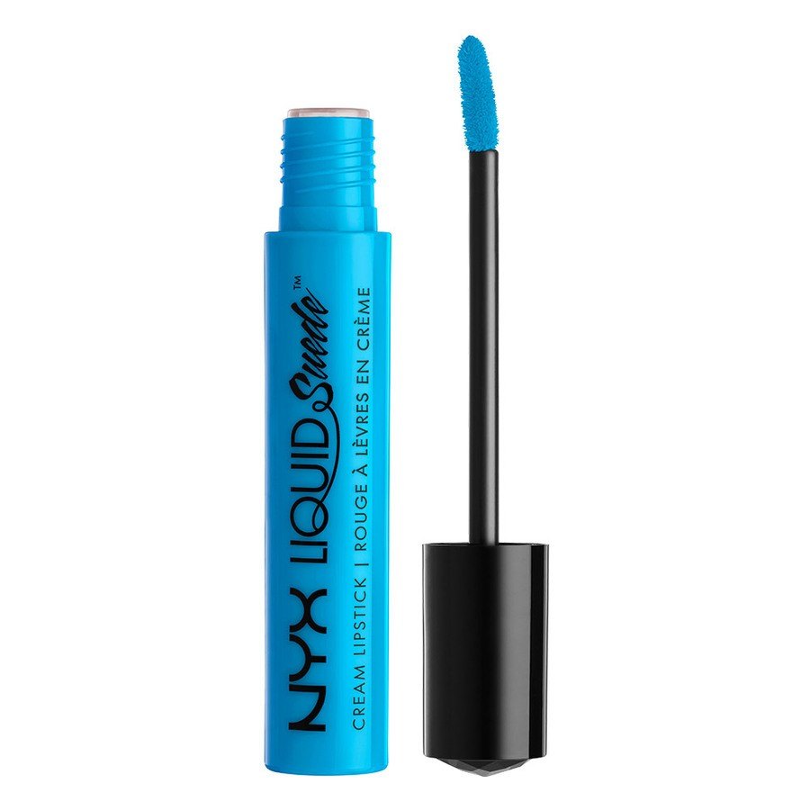 NYX Liquid Suede Cream Lipstick Denim Dress