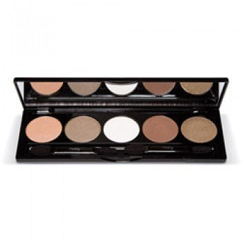 Nvey ECO Eye Shadow Palette 5 Colour Collection N° 3 Gold Brown Sugar (152, 153, 155, 158, 161) 7,5g