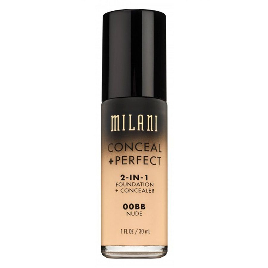 Milani Conceal & Perfect 2 In 1 Foundation + Concealer Nude 30ml
