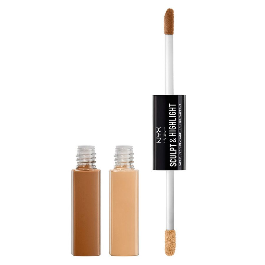 NYX Prof. Makeup Sculpt & Highlight Face Duo Almond/Light
