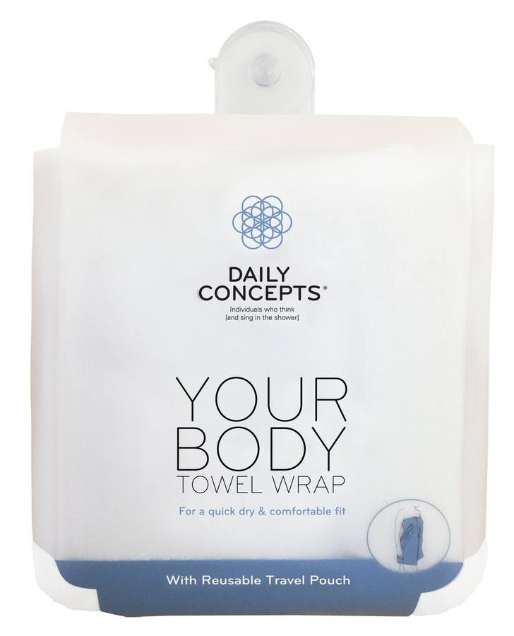 Daily Concepts Your Body Towel Wrap DC22