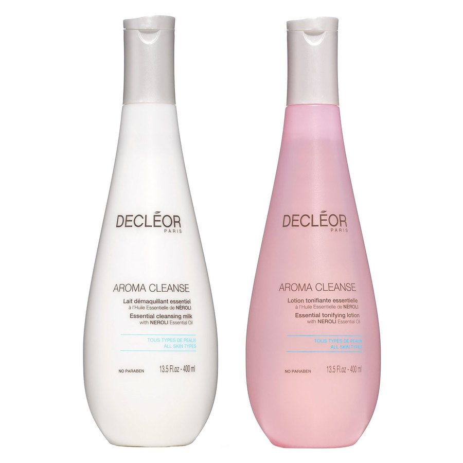 Decléor Face Duo Tonifying Lotion og Cleansing Milk 2x400ml