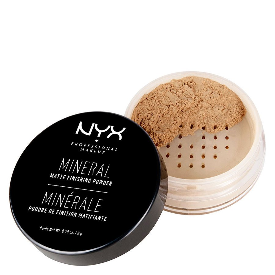 NYX Professional Makeup Mineral Finishing Powder Medium/Dark MFP02