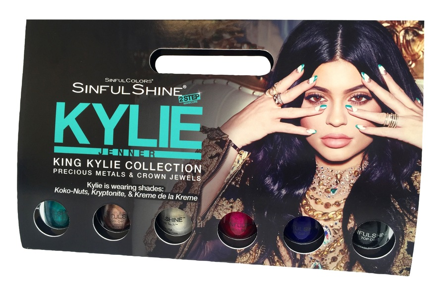 Kylie Jenner Sinful Colors King Kylie Collection Precious Metals & Crown Jewels 6 x 15ml