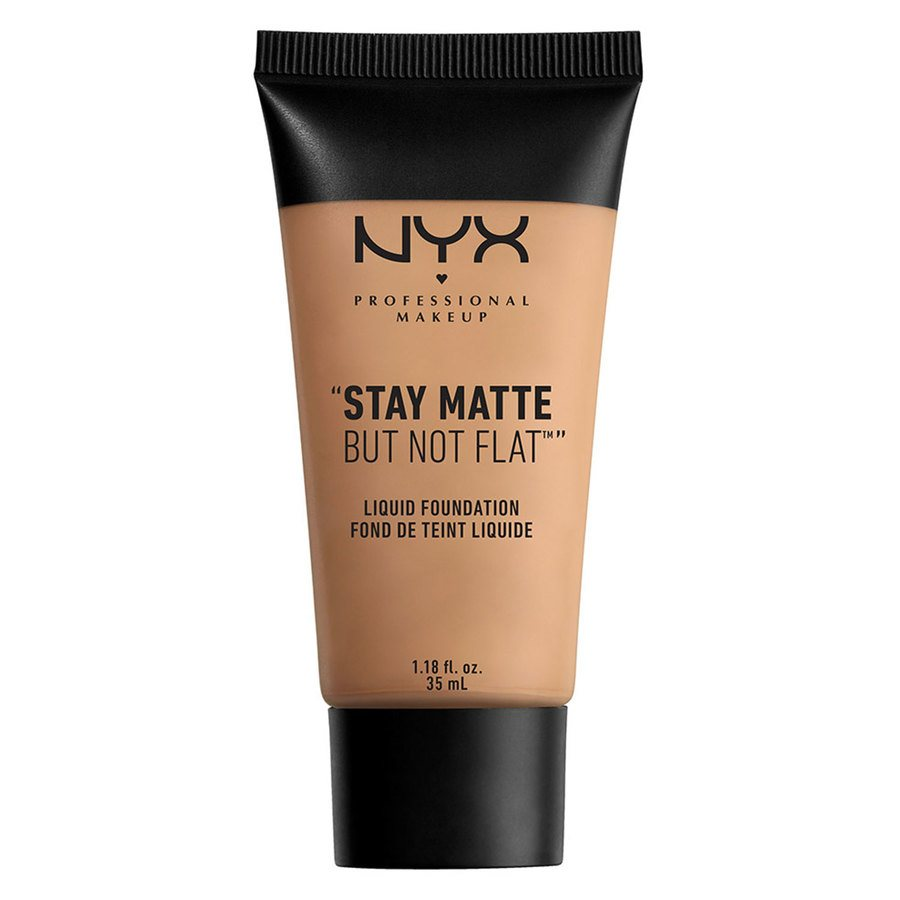 NYX Professional Makeup Stay Matte But Not Flat Liquid Foundation Tan 35ml
