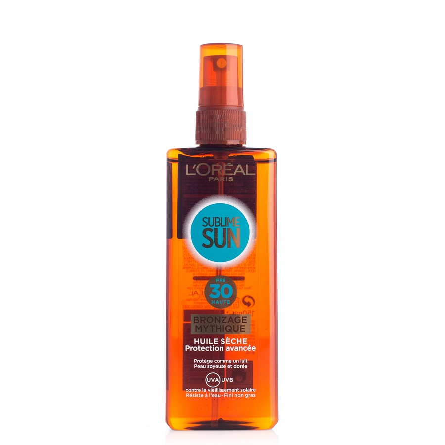 L'Oréal Paris Sublime Sun Mythical Tan Oil SPF30 Pump Spray 150ml