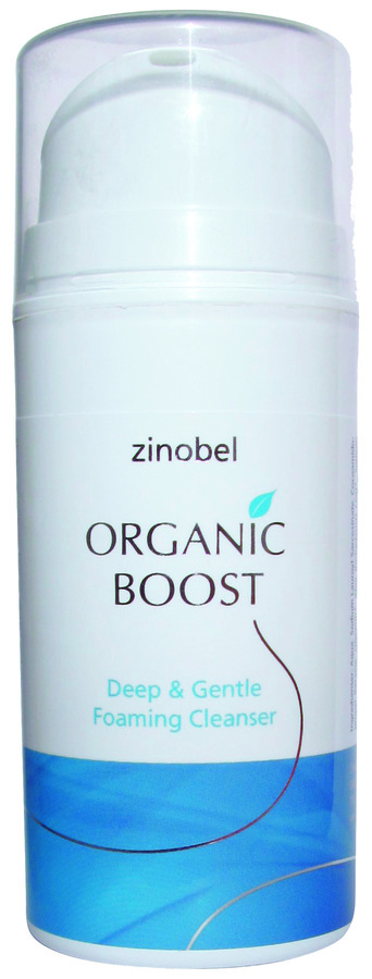 Zinobel Organic Boost Deep & Gentle Foaming Cleanser 100ml