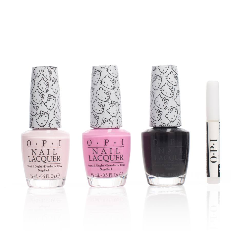 OPI Hello Kitty Collection Trio Sparkle And Shine 3 x 15ml