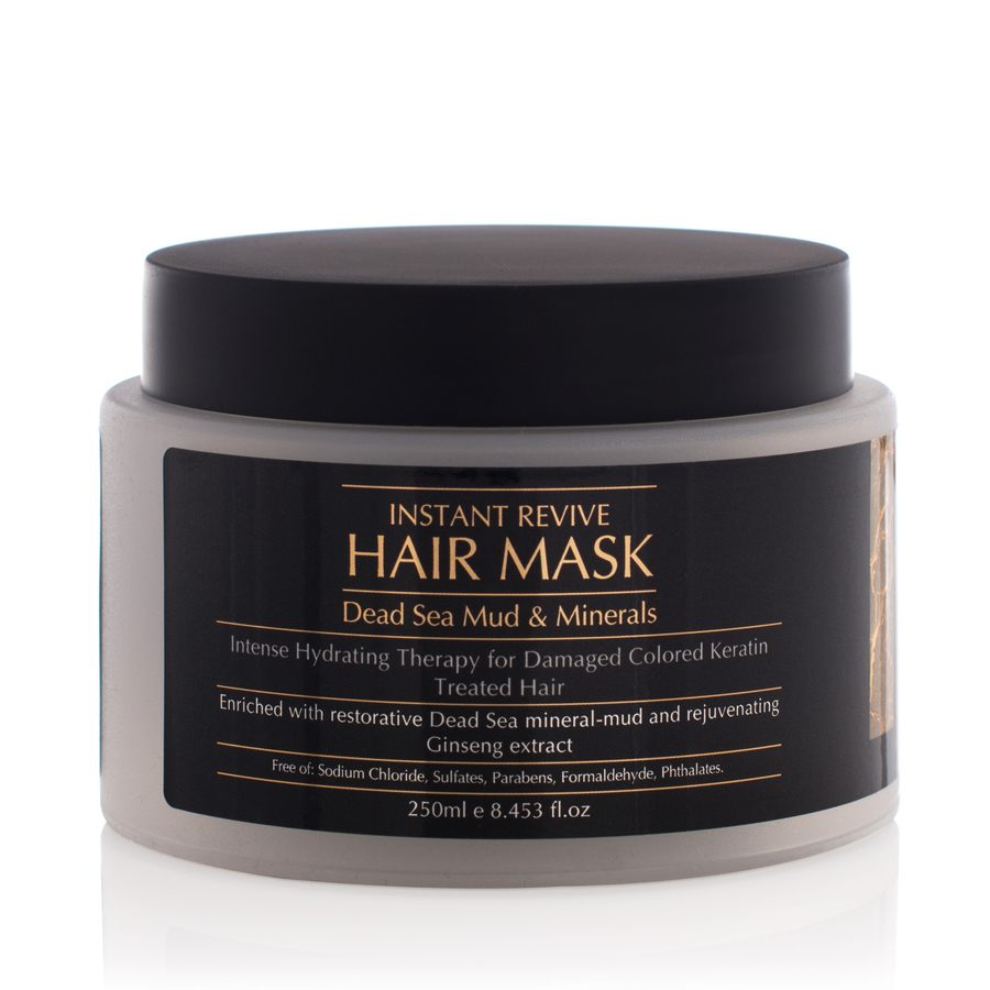 Minerals of Eden Instant Revive Hair Mask Dead Sea Mud & Minerals 250ml