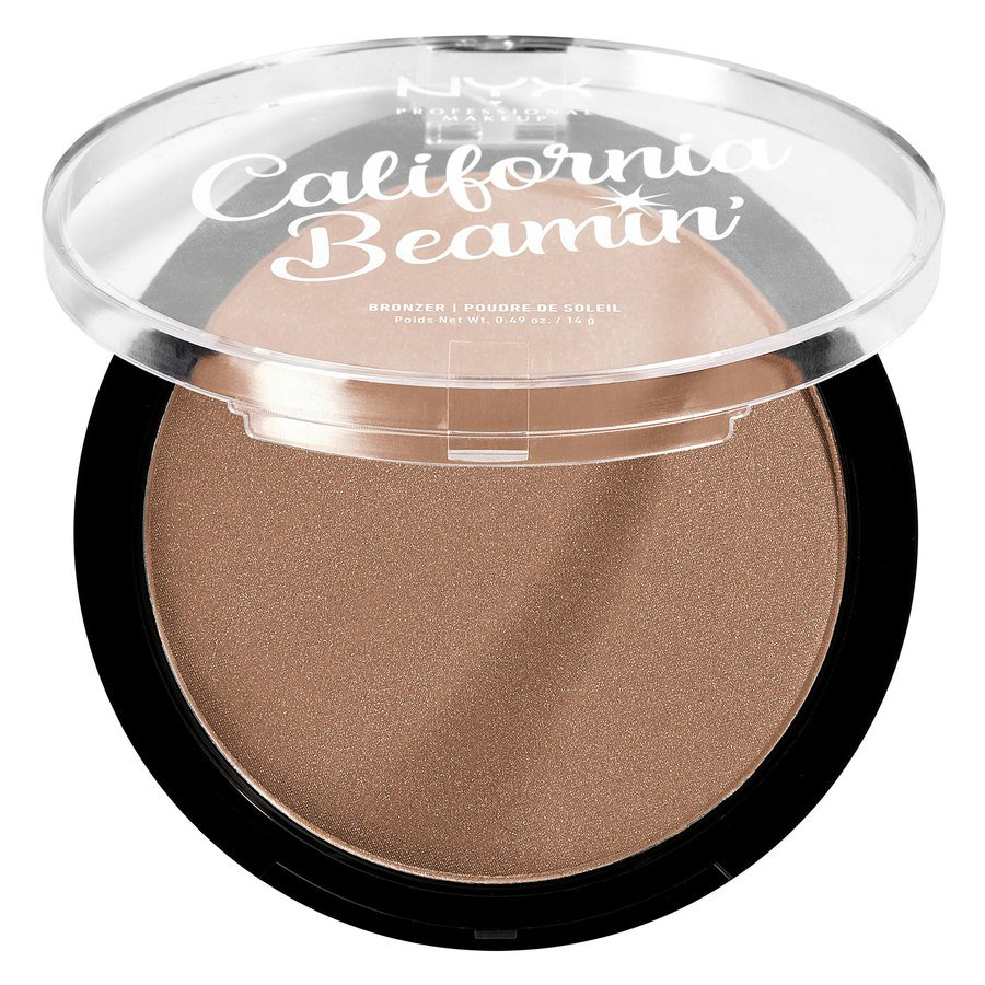 NYX Professional Makeup California Beamin' Face & Body Bronzer The Golden One 14g