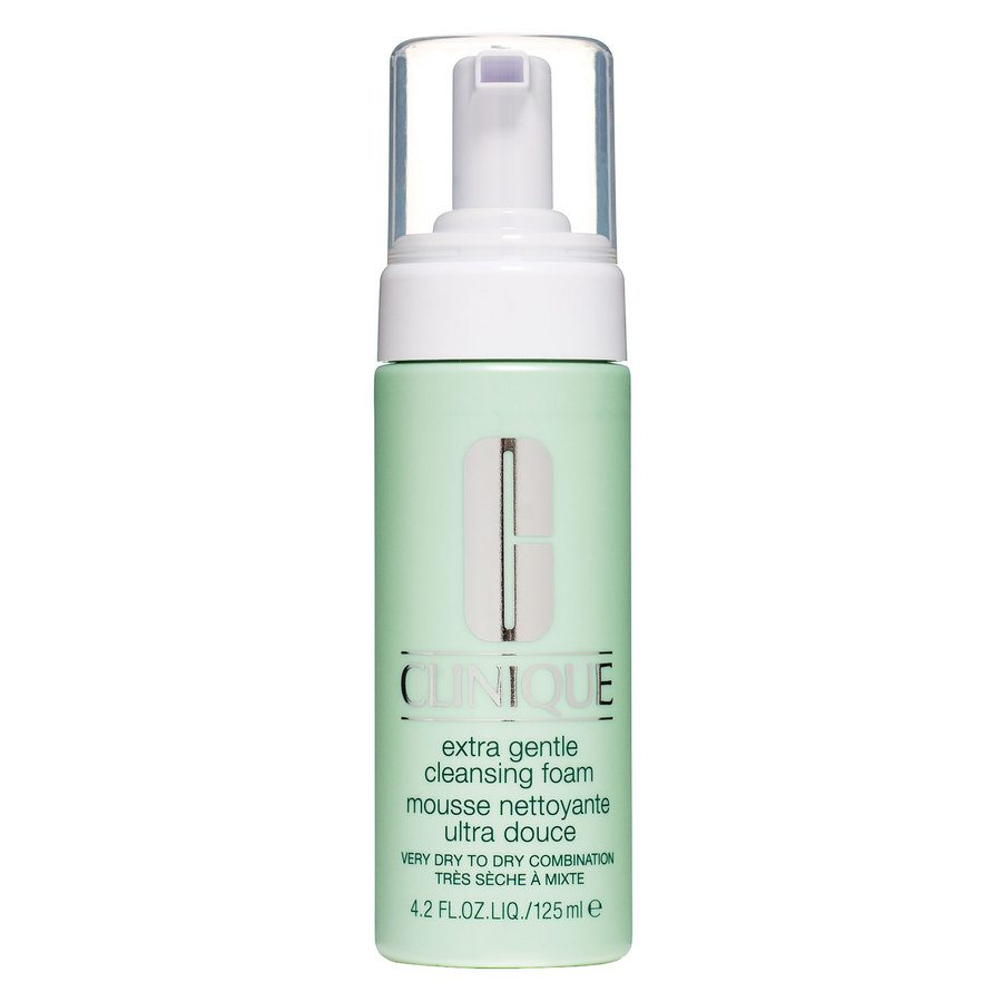Clinique Extra Gentle Cleansing Foam Very Dry To Dry Combination 125ml