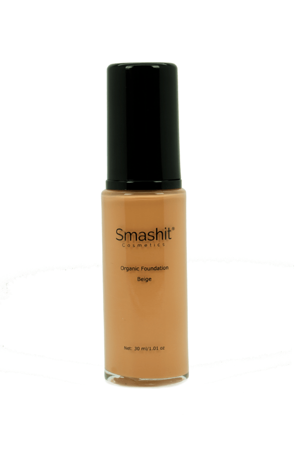 Smashit Cosmetics Organic Foundation Beige 30ml