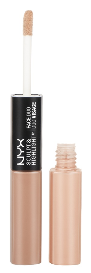NYX Sculpt & Highlight Face Duo Taupe/Ivory