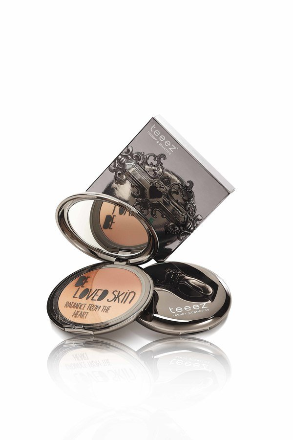 Teeez Trend Cosmetics Beloved Skin Collection Be Smooth Face Powder 305 Warm Sand