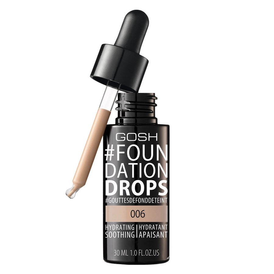 GOSH Foundation Drops #006 Tawny 30ml