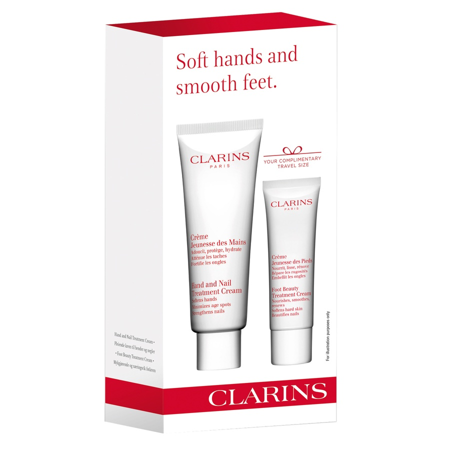 Clarins Soft Hands & Smooth Feet Gift Set