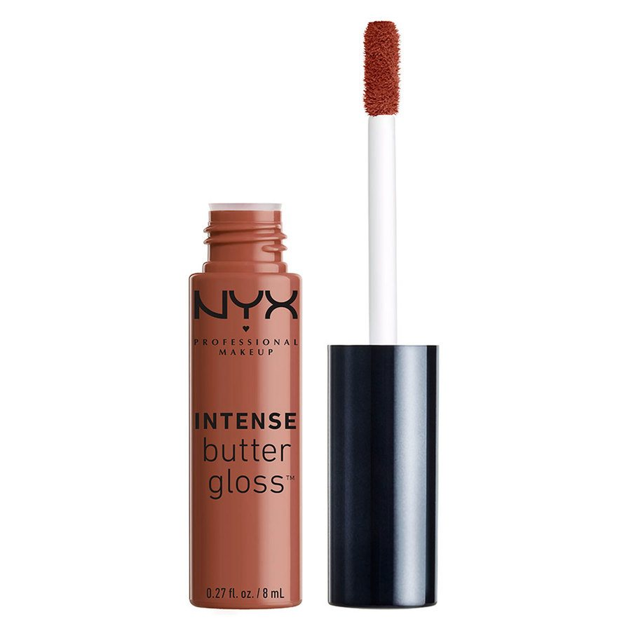 NYX Professional Makeup Intense Butter Gloss Chocolate Crepe 8ml