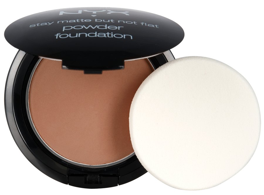 NYX Stay Matte But Not Flat Powder Foundation Nutmeg SMP14