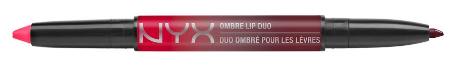 NYX Ombre Lip Duo Lipstick & Lipliner Old12 Bonnie & Clyde