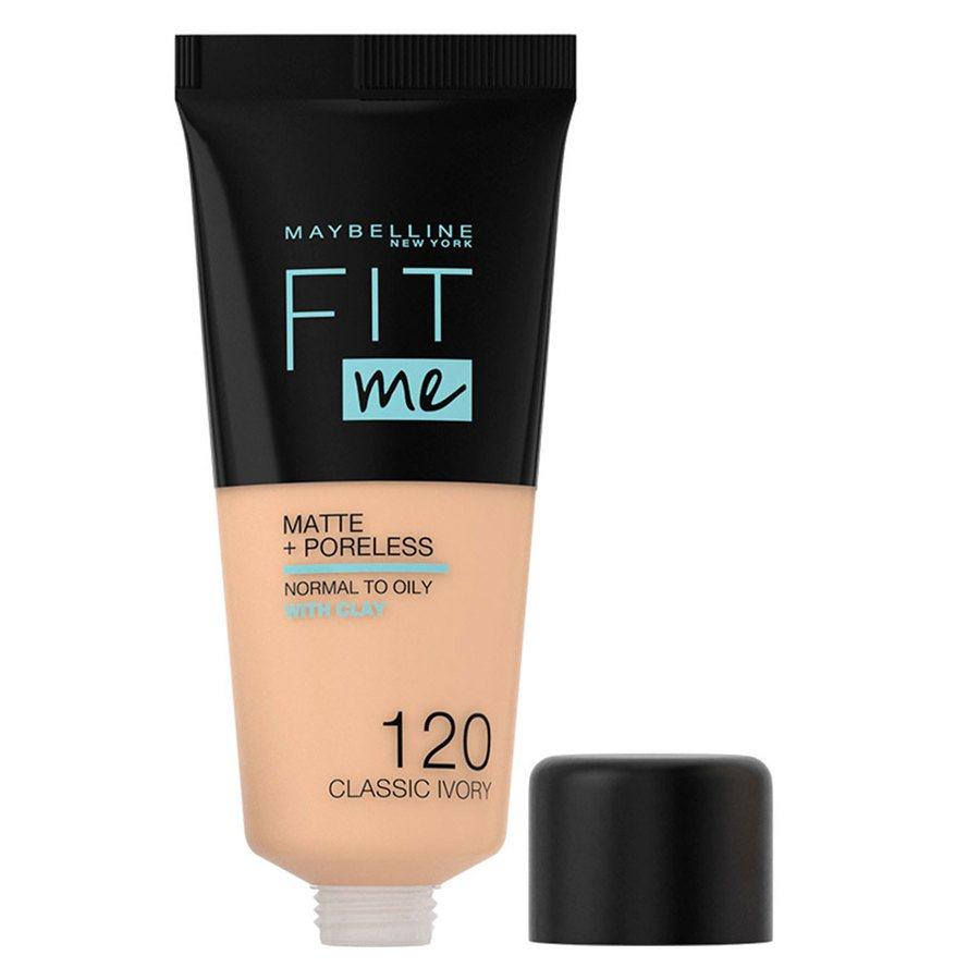 Maybelline Fit Me Matte + Poreless Foundation #120 Classic Ivory 30ml