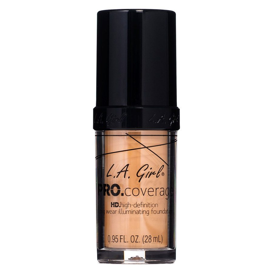 L.A. Girl Pro Coverage Illuminating Foundation GLM647 Warm Beige
