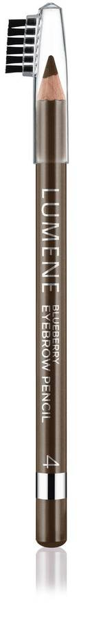 Lumene Blueberry Eyebrow Pencil 4 Medium Brown 1,1g