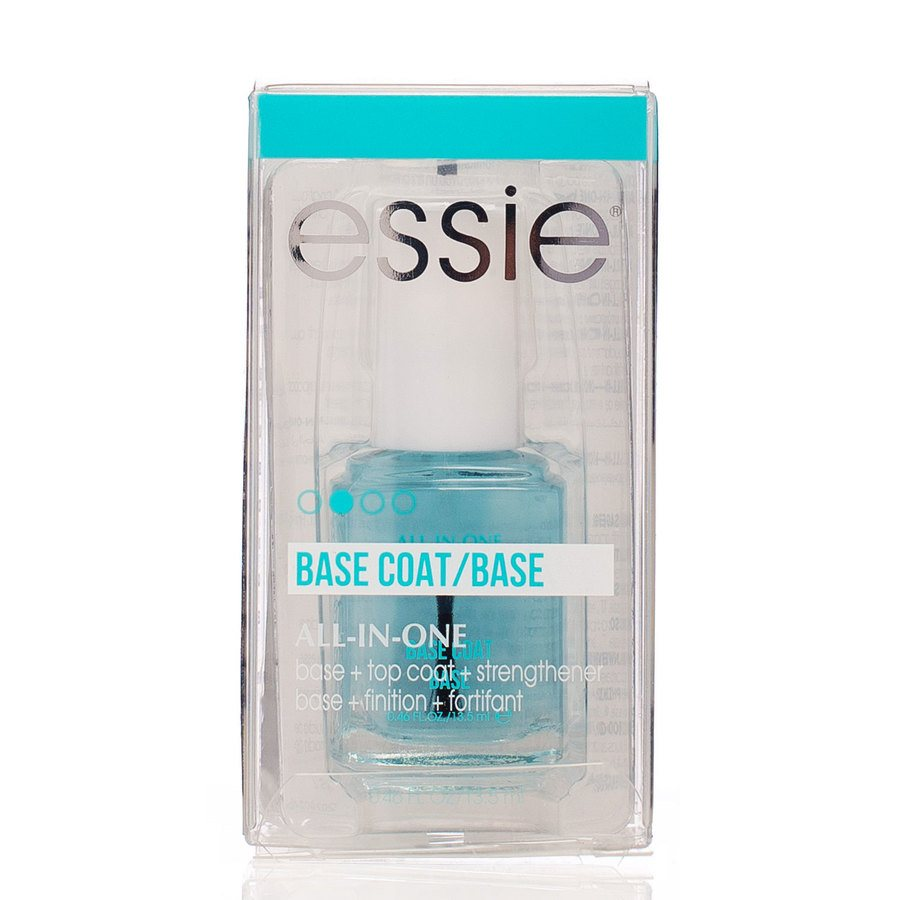 Essie All In One 3-way Glaze Base, Strenghtener And Top Coat 13,5ml