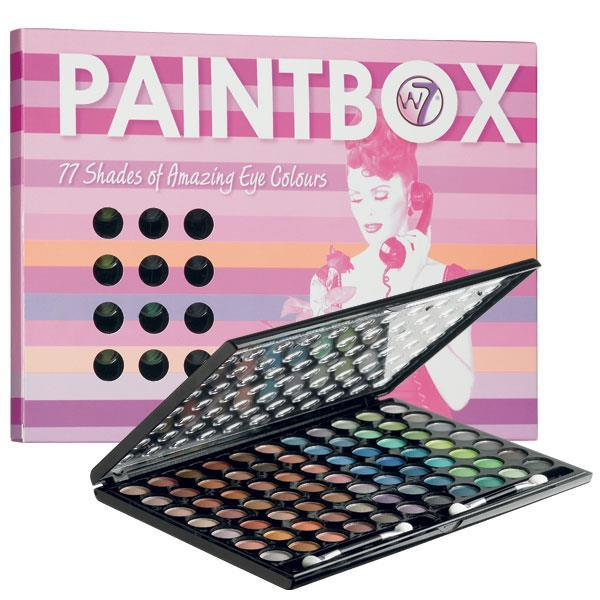 W7 Cosmetics Paintbox Med 77 Farger