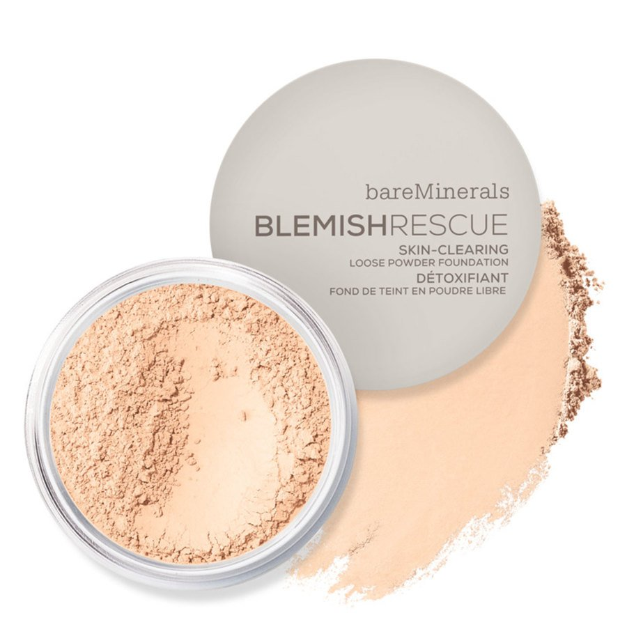 BareMinerals Blemish Rescue Skin Clearing Loose Powder Foundation Fair 1C 6g