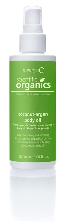 emerginC Coconut-Argan Body Oil 180ml