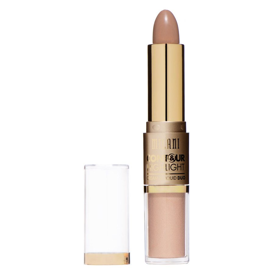 Milani Contour And Highlight Cream And Liquid Duo Light/Natural