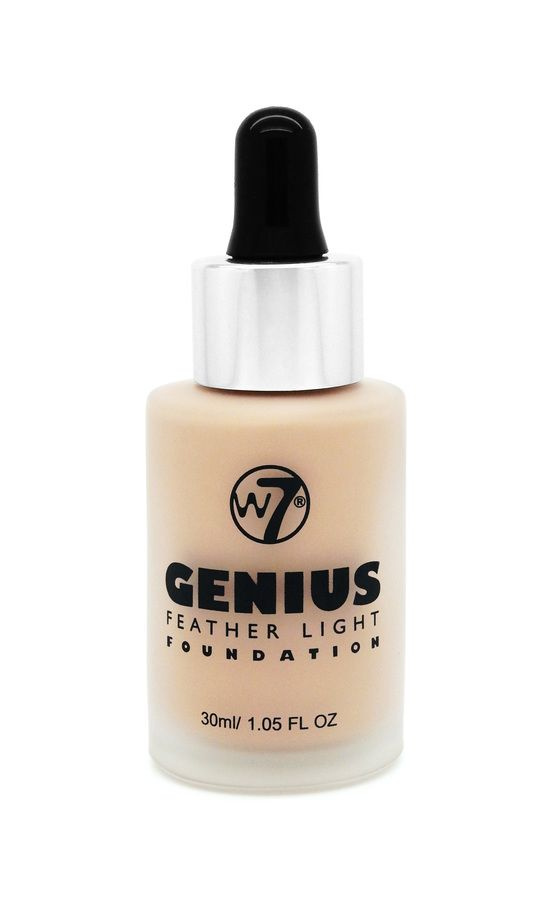 W7 Genius Feather Light Foundation Buff