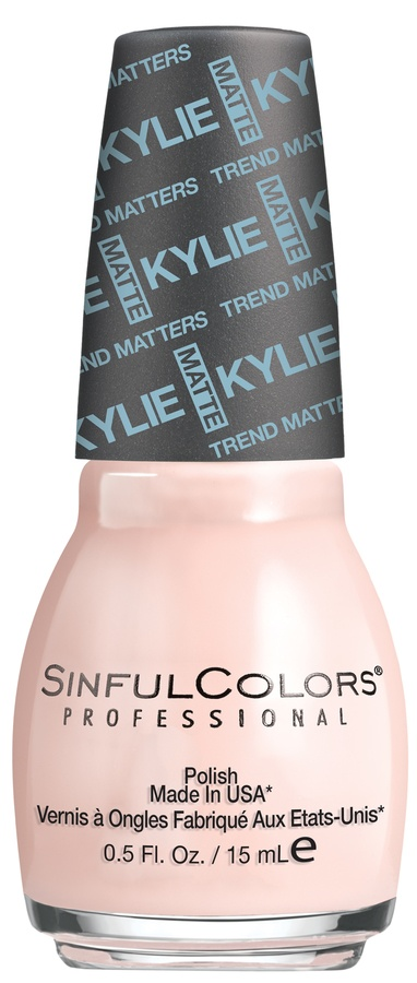 Kylie Jenner Sinful Colors Neglelakk Taupe Is Chic #2131 15ml